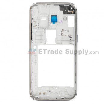 For Samsung Galaxy Core Prime Value Edition SM-G361 Rear Housing Replacement - Silver - Grade S+ (0)