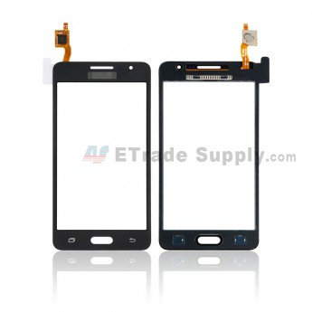 For Samsung Galaxy Grand Prime SM-G531F Digitizer Touch Screen Replacement - Black - Samsung Logo - Grade S+ (0)