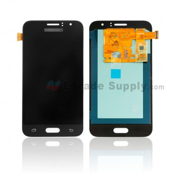 For Samsung Galaxy J1 2016 SM-J120 LCD Screen and Digitizer Assembly Replacement - Black - With Logo - Grade S (0)