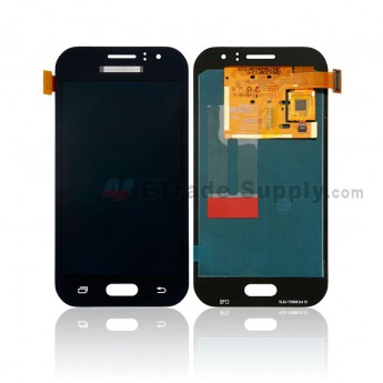 For Samsung Galaxy J1 Ace (SM-J110) LCD Screen and Digitizer Assembly Replacement - Black - Samsung Logo - Grade S+ (0)