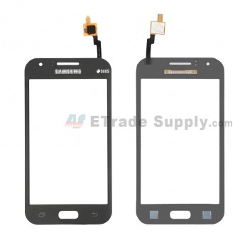 For Samsung Galaxy J1 (SM-J100) Digitizer Touch Screen Replacement - Black - With Samsung and Duos Logo - Grade S+ (6)