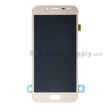 For Samsung Galaxy J2 Pro (2018) SM-J250 LCD Screen and Digitizer Assembly Replacement - Gold - Grade S+ (0)