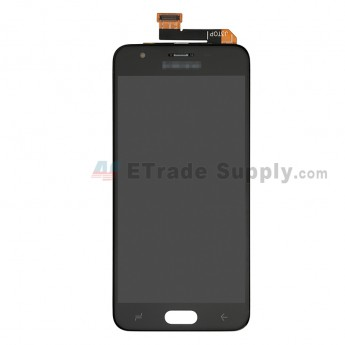 For Samsung Galaxy J337 LCD Screen and Digitizer Assembly Replacement - Black - With Logo - Grade S+ (0)
