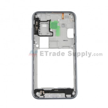For Samsung Galaxy J3 (2016) SM-J320F Full Housing Assembly Replacement -- Black - Grade S+ (0)