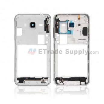 For Samsung Galaxy J3 (2016) SM-J320F Rear Housing Replacement - White - Grade S+ (0)