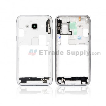 For Samsung Galaxy J3 (2016) SM-J320F Rear Housing Replacement (Double SIM Card) - Gold - Grade S+ (0)