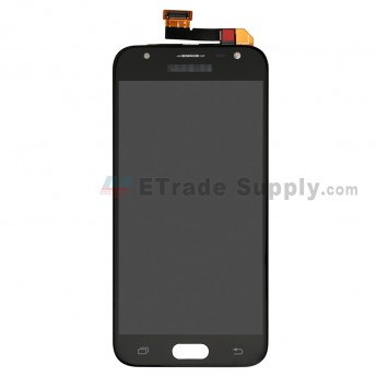 For Samsung Galaxy J3 (2017) J330 LCD Screen and Digitizer Assembly Replacement - Black - With Logo - Grade S+ (0)