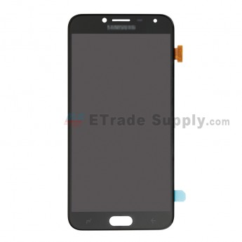 For Samsung Galaxy J4 2018 SM-J400 LCD Screen and Digitizer Assembly Replacement - Black - With Logo - Grade S (0)