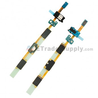For Samsung Galaxy J5 (2016) SM-J510F Home Button Flex Cable Ribbon with Earphone Jack Replacement - Grade S+ (0)