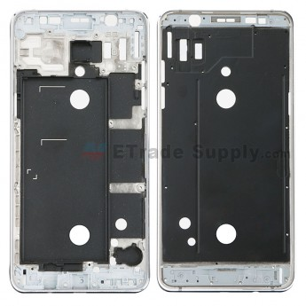 For Samsung Galaxy J5 (2016) SM-J510 Front Housing Replacement - Black - Grade S+ (0)