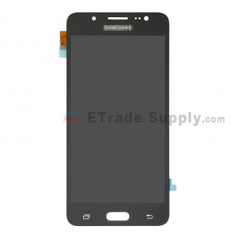 For Samsung Galaxy J5 (2016) SM-J510 LCD Screen and Digitizer Assembly Replacement - Black - With Logo - Grade R (0)