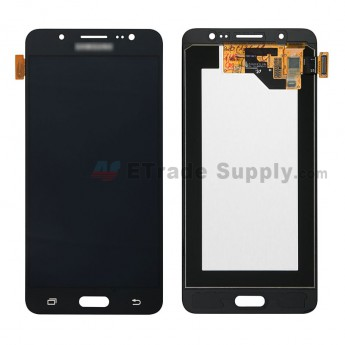 For Samsung Galaxy J5 (2016) SM-J510 LCD Screen and Digitizer Assembly Replacement - Black - With Logo - Grade S+ (0)