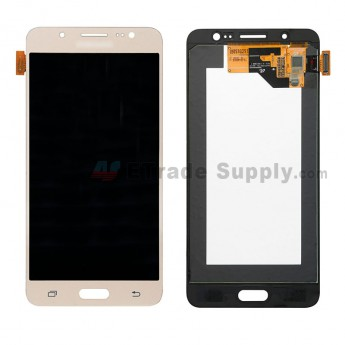 For Samsung Galaxy J5 (2016) SM-J510 LCD Screen and Digitizer Assembly Replacement - Gold - With Logo - Grade S (0)