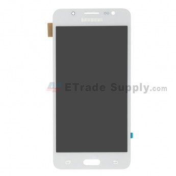 For Samsung Galaxy J5 (2016) SM-J510 LCD Screen and Digitizer Assembly Replacement - White - With Logo - Grade R (0)