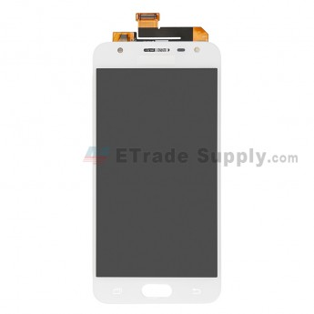 For Samsung Galaxy J5 Prime SM-G570 LCD Screen and Digitizer Assembly Replacement - White - With Logo - Grade S+ (7)