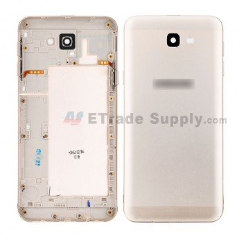 For Samsung Galaxy J5 Prime SM-G570 Rear Housing Replacement - Gold - Samsung Logo - Grade S+ (0)