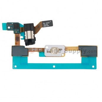 For Samsung Galaxy J5 SM-J500F Home Button Flex Cable Ribbon with Earphone Jack Replacement - Grade S+ (0)