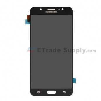 For Samsung Galaxy J7 (2016) SM-J710F LCD Screen and Digitizer Assembly Replacement - Black - With Logo - Grade R (0)