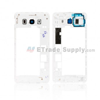 For Samsung Galaxy J7 (2016) SM-J710F Rear Housing Replacement - White - Grade S+ (0)