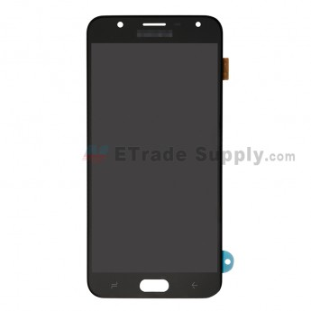 For Samsung Galaxy J7 Duo SM-J720 LCD Screen and Digitizer Assembly Replacement - Black - With Logo - Grade S+ (0)