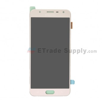 For Samsung Galaxy J7 Duo SM-J720 LCD Screen and Digitizer Assembly Replacement - Gold - With Logo - Grade S+ (0)
