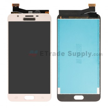 For Samsung Galaxy J7 Prime LCD Screen and Digitizer Assembly Replacement - Gold - With Logo - Grade S+ (20)