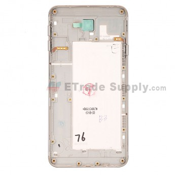 For Samsung Galaxy J7 Pro SM-G615F Rear Housing Replacement - Gold - Samsung Logo - Grade S+ (1)