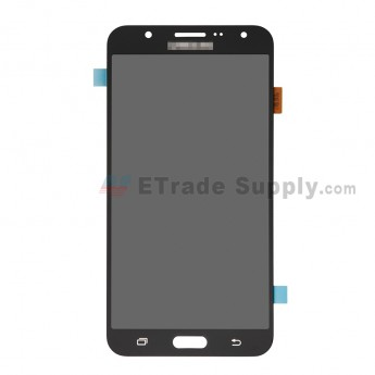 For Samsung Galaxy J7 SM-J700F LCD Screen and Digitizer Assembly Replacement - Black - With Logo - Grade R (0)