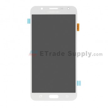 For Samsung Galaxy J7 SM-J700F LCD Screen and Digitizer Assembly Replacement - White - With Logo - Grade R (0)
