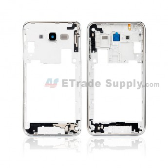 For Samsung Galaxy J7 SM-J700F Rear Housing Replacement - Black - Grade S+ (0)
