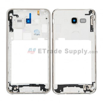 For Samsung Galaxy J7 SM-J700F Rear Housing Replacement - White - Grade S+ (0)