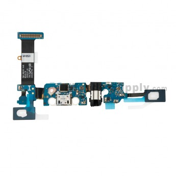 For Samsung Galaxy Note 5 SM-N920I Charging Port Flex Cable Ribbon with Earphone Jack Replacement - Grade S+ (0)