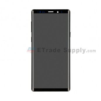 For Samsung Galaxy Note 9 Series LCD Screen and Digitizer Assembly with Front Housing Replacement - Black - Without Logo - Grade S (0)