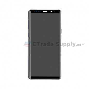 For Samsung Galaxy Note 9 Series LCD Screen and Digitizer Assembly with Front Housing Replacement - Blue - Without Logo - Grade S (0)