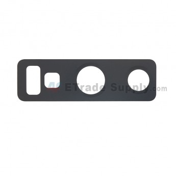 For Samsung Galaxy Note 9 Series Rear Facing Camera Lens Replacement - Black - Grade S+ (0)