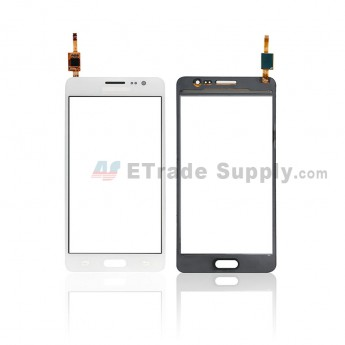 For Samsung Galaxy On5 (2015)-G550 Digitizer Screen Replacement - White - With Logo - Grade S+ (0)
