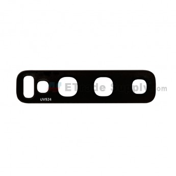 For Samsung Galaxy S10/S10 Plus Rear Facing Camera Lens Replacement - Black - Grade S+ (0)