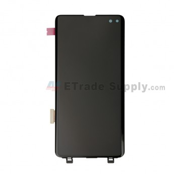 For Samsung Galaxy S10 Plus Series LCD Screen and Digitizer Assembly Replacement - Black - Without Logo - Grade S+ (0)