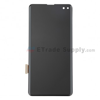 For Samsung Galaxy S10 Plus Series LCD Screen and Digitizer Assembly Replacement - Black - Without Logo - Grade S (0)