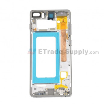 For Samsung Galaxy S10 Plus Series Partition Replacement - White - Grade S (0)