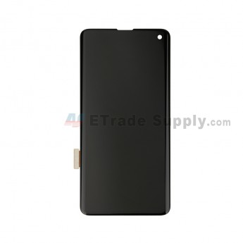 For Samsung Galaxy S10 Series LCD Screen and Digitizer Assembly Replacement - Black - Without Logo - Grade S+ (0)