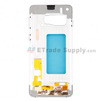 For Samsung Galaxy S10 Series Partition Replacement - White - Grade S (0)