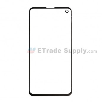 For Samsung Galaxy S10e Series Glass Lens Replacement - Black - Without Logo - Grade S+ (0)