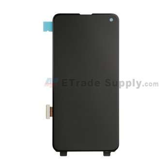 For Samsung Galaxy S10e Series LCD Screen and Digitizer Assembly Replacement - Black - Without Logo - Grade S+ (0)