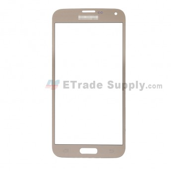 For Samsung Galaxy S5 Neo G903F Glass Lens Replacement - Gold - With Logo - Grade R (0)