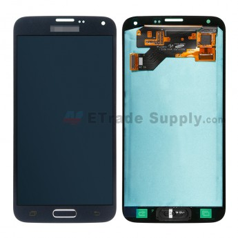 For Samsung Galaxy S5 Neo G903F LCD Screen and Digitizer Assembly Replacement - Blue - Samsung Logo - Grade S+ (1)