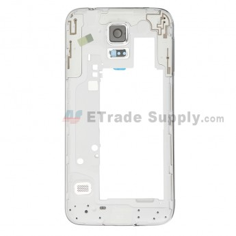 For Samsung Galaxy S5 Neo G903W Rear Housing Replacement - Silver - Grade S+ (0)