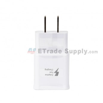 For Samsung Galaxy S6/S7 Series Charger and USB Data Cable - White - Grade R (1)