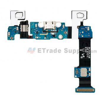 For Samsung Galaxy S6 Edge Plus SM-G928V Charging Port Flex Cable Ribbon With Sensor Replacement - Grade S+ (0)