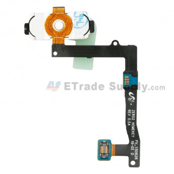 For Samsung Galaxy S6 Edge Plus Series Home Button Flex Cable Ribbon Replacement - Sapphire - Grade S+ (0)